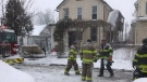 Parent Ave. house fire on Jan. 19, 2018. (Alana Hadadean/CTV)