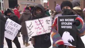 Women's march montreal Jan 19