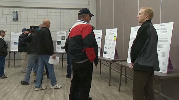 Strathmore holds open house over proposed solar farm | CTV News