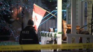 The woman killed in an Edmonton home invasion on Friday night has been identified.