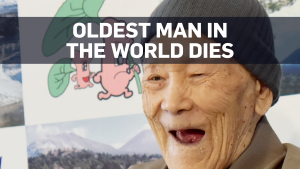 World's oldest man dies at age 113