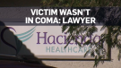 Victim wasn't in coma: family's lawyer
