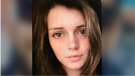 Sophie Cleland, 19, was last seen at a restaurant on Boulevard Saint-Laurent just before midnight on Saturday. (CTV Montreal)