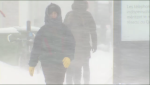 On Sunday, temperatures are expected to stay below -15 degrees, but snowfall accumulation could reach up to 25 cm. (CTV Montreal)