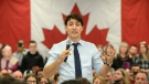 Prime Minister Justin Trudeau participates in a town hall Q&A in Saint-Hyacinthe, Quebec on Friday January 18, 2019. THE CANADIAN PRESS/Ryan Remiorz