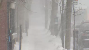 Montreal snow storm Jan 20