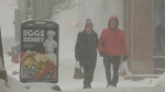 Winter storm brings heavy snow to New Brunswick