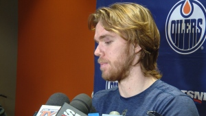 McDavid after Oilers team meeting