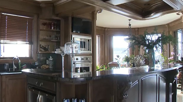 Interior of the Millarville home that had been up for grabs in the 'Write a letter, win a house' contest before it was cancelled in July