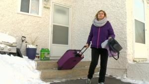 Fire victim struggles after being displaced