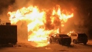 Fire destroys Pilot Butte home