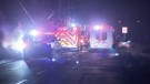 First responders were called to No. 6 Road in Richmond after two people were injured in a single-vehicle crash early Monday morning.