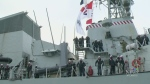 HMCS Ville de Quebec returns to Halifax