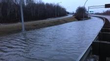 MacKay Bridge flooding