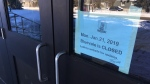 Bluevale Collegiate Institute was closed Monday for heating issues. (Dan Lauckner / CTV Kitchener)