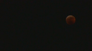 Super Blood Wolf Moon captured in time lapse