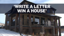 You can win this mansion for $25 and a letter