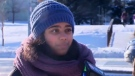 Siya Pandit, 14, said she remembers a vehicle accelerating in front of her before the collision.