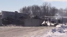 Hotspots bring fire crews to farm near St. Marys