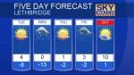 Lethbridge forecast January 21, 2019