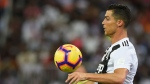 Juventus' Cristiano Ronaldo controls the ball during of the Italian Super Cup final soccer match between AC Milan and Juventus at King Abdullah stadium in Jiddah, Saudi Arabia, Wednesday, Jan. 16, 2019. (AP Photo)