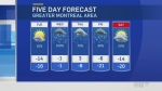 Montreal forecast Jan 22, 2019