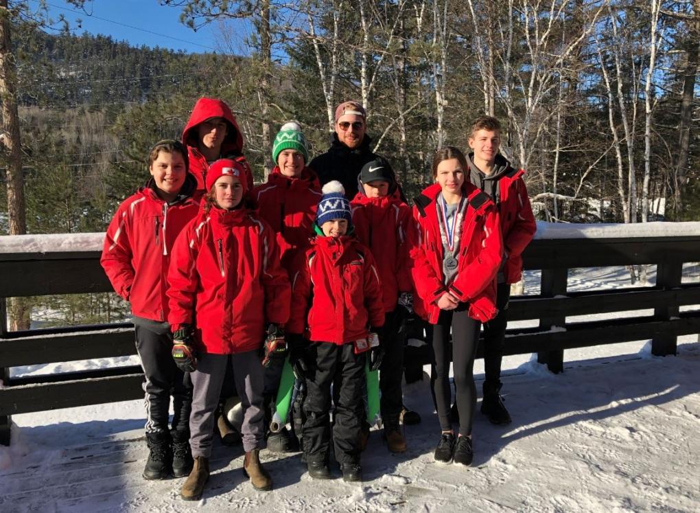 Timmins Ski Racers team