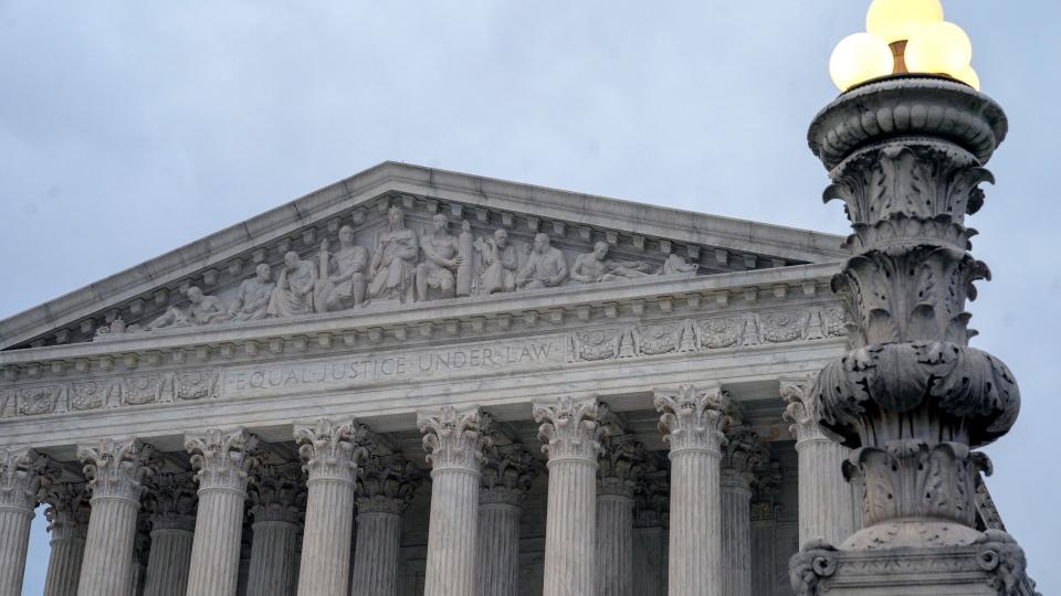In this Jan. 7, 2019 photo, The Supreme Court is seen in Washington. (AP Photo/J. Scott Applewhite)