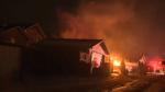 Calgary garage fire