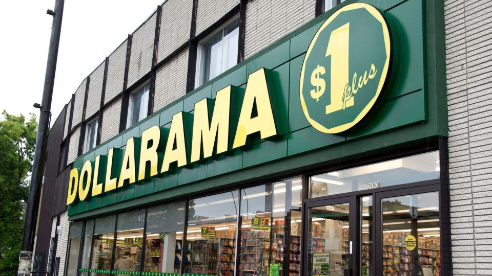 A Dollarama store is seen Tuesday, June 11, 2013. (Paul Chiasson / THE CANADIAN PRESS)