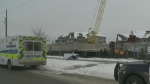 Construction worker injured in Waterloo