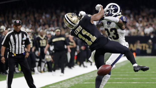 New Orleans Saints wide receiver Tommylee Lewis