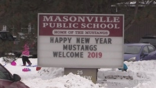 Masonville P.S. packed after portable problems