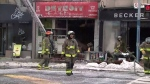 Detroit Eatery fire