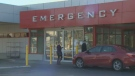 The emergency entrance at Victoria General Hospital is shown in this undated file photo.