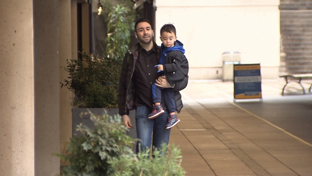 Matt Astifan says he and his son Marcus were evicted from a rented condo in New Westminster because his neighbours filed noise complaints.