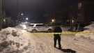 Ottawa Police are on scene investigating a shooting in Vanier Tuesday night.
