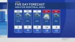 forecast wednesday Jan 23