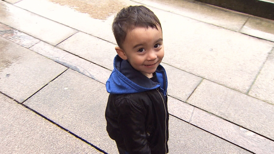 Noise complaints about three-year-old Marcus Astifan resulted in him and his father being evicted from their rented condo in New Westminster, B.C.