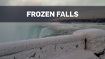 Scenes of frozen Niagara Falls captured on camera