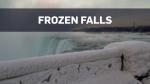 Scenes of frozen Niagara Falls captured on camera
