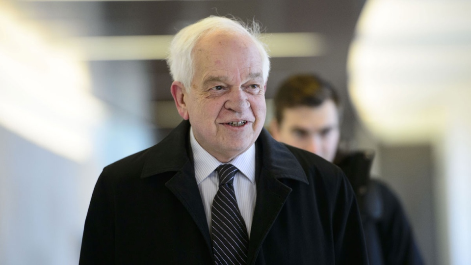 Canada's former ambassador to China, John McCallum, arrives to brief members of the Foreign Affairs committee regarding China in Ottawa on Friday, Jan. 18, 2019. THE CANADIAN PRESS/Sean Kilpatrick