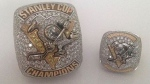 Toronto police are searching for these two rings from the Pittsburgh Penguins 2017 Stanley Cup Championship (Toronto police handout).