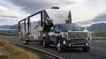 GMC has revealed its latest and most powerful Sierra Heavy Duty truck. (GMC)