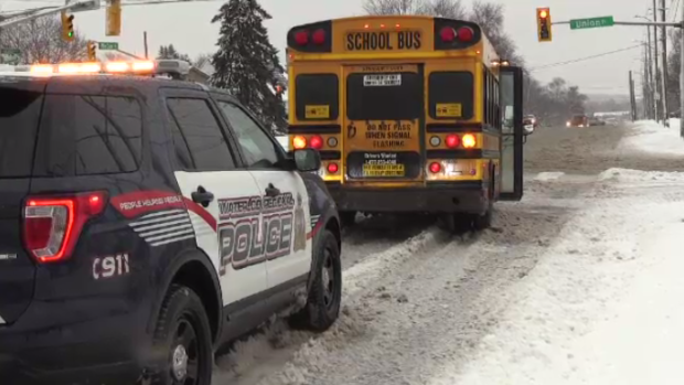 Three buses around the region were involved in crashes on Wednesday morning.