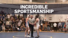 High-school wrestler lets injured opponent win