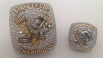 Toronto police released this image of two stolen Pittsburgh Penguins 2017 Stanley Cup Championship rings.