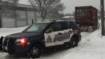 Around 20 crashes during messy weather: police