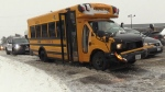 Buses delayed, 3 crash in Waterloo Region