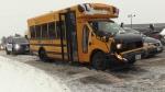 Buses delayed, 3 crash in Waterloo Region